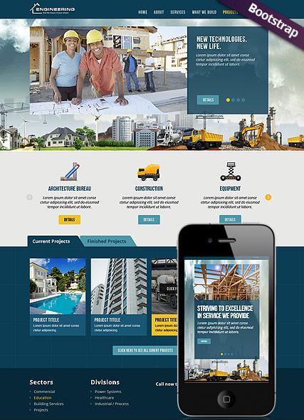 Civil Engeneering Website Design
