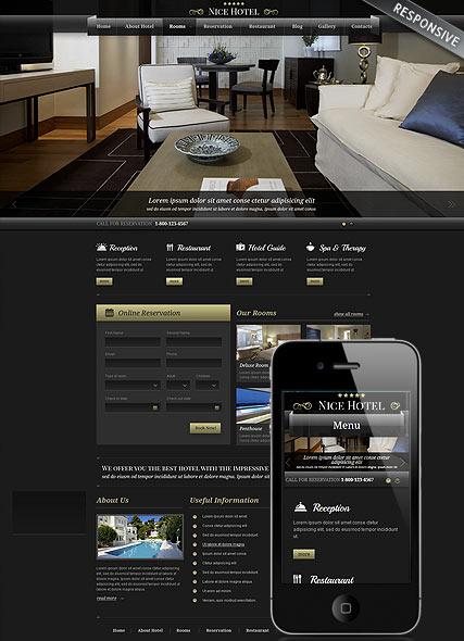 Best Hotel Website Design