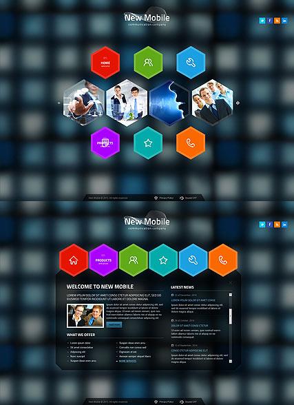 New Communication Website Design