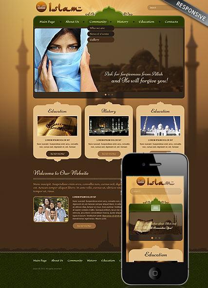 Islam Website Design