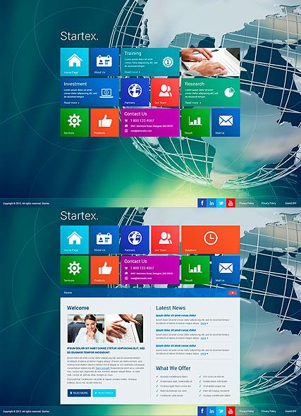 Startex Business Website Design
