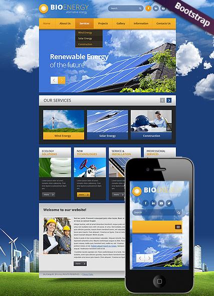 Bio Energy Website Design
