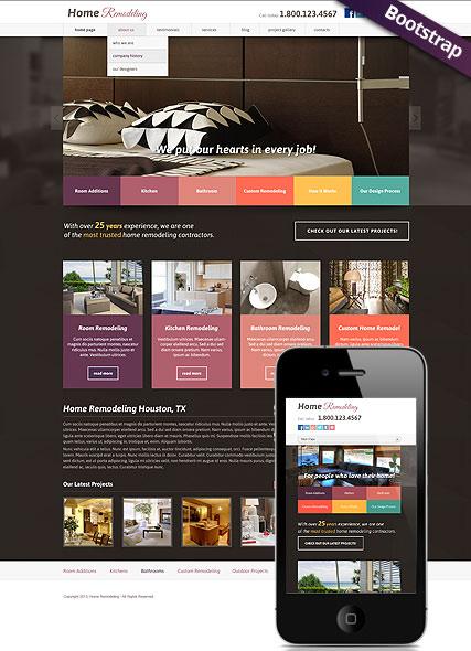 Home remodeling v3.0 Website Design