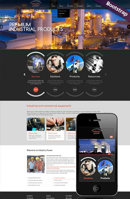 Industry Power Website Design