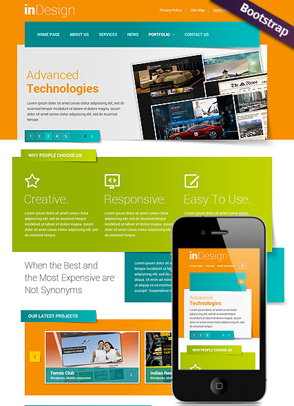 In Design Website Design