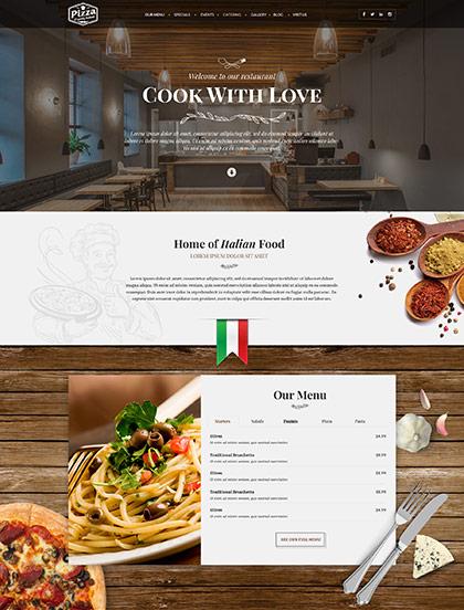 Italian Restaurant Website Design