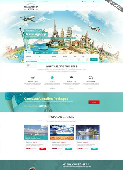 Travel Agency WP Website Design