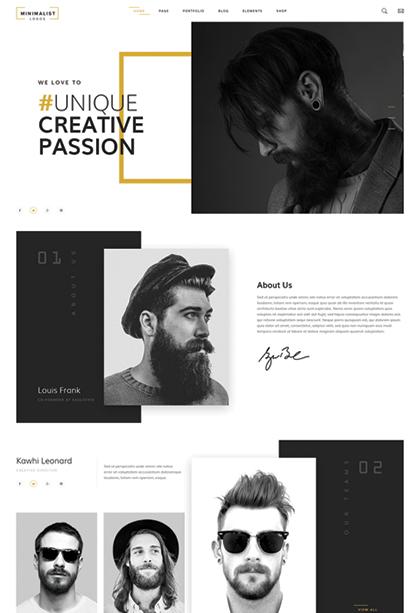 Creative studio Website Design