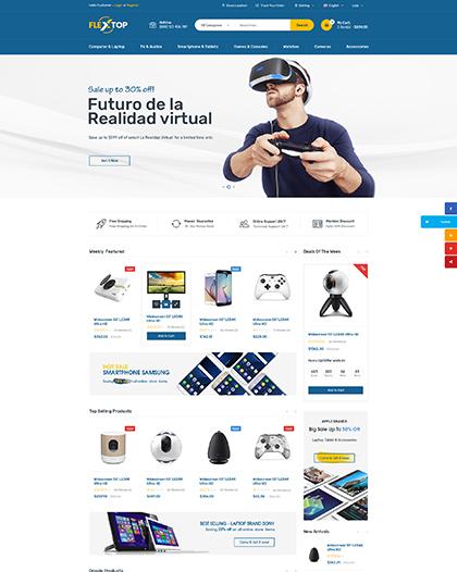 Flextop Website Design